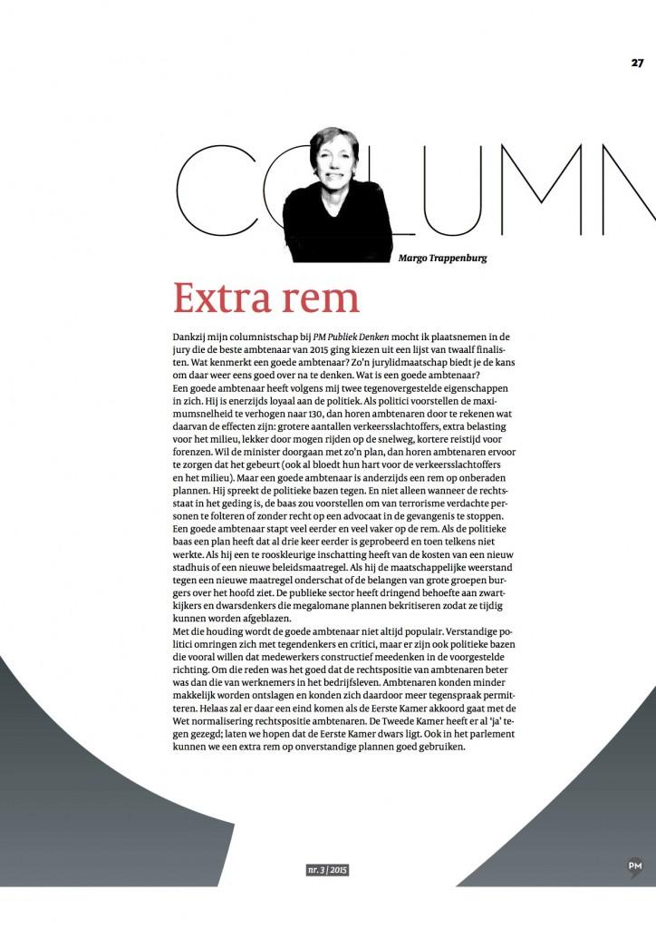 2015 PubliekDenken 03 Column Margo Trappenburg